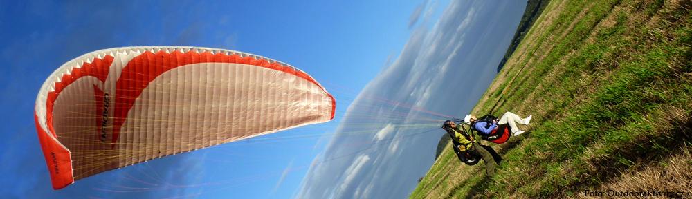 Paragliding naviják Bruno Solanský